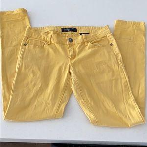 2/$10 Yellow women jean